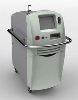 イボ治療に使用するレーザーです