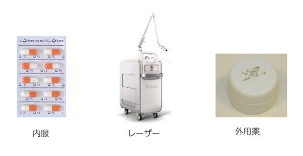 肝斑の治療