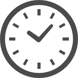 時計の無料アイコン